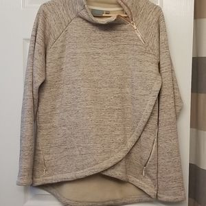 EUC Cozy Karma Asymmetrical top